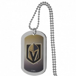 Vegas Golden Knights Team Tag Necklace