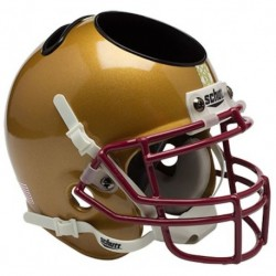 Boston College Eagles Miniature Football Helmet Desk Caddy Stained Glass