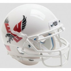 Eastern Washington Eagles Authentic College XP Football Helmet Schutt White with Chrome Decal