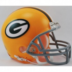Green Bay Packers 1961 to 1979 Riddell Mini Replica Throwback Helmet