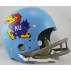 Kansas Jayhawks 1964 TK Helmet Full Size Throwback