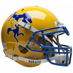McNeese State Cowboys Authentic College XP Football Helmet Schutt