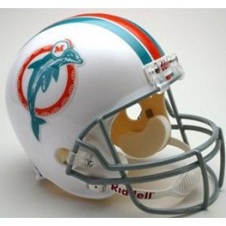 Miami Dolphins 1973 to 1979 Full Size Replica Throwback Helmet