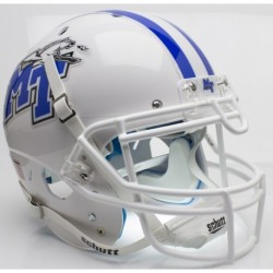 Middle Tennessee State Blue Raiders Authentic College XP Football Helmet Schutt White