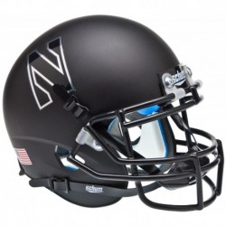 Northwestern Wildcats Authentic College XP Football Helmet Schutt Matte Black
