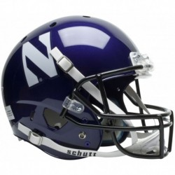 Northwestern Wildcats Full XP Replica Football Helmet Schutt