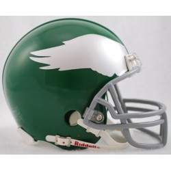 Philadelphia Eagles 1959 to 1969 Riddell Mini Replica Throwback Helmet