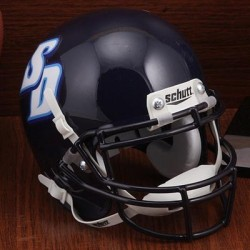 San Diego Toreros Mini XP Authentic Helmet Schutt