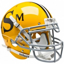 Southern Mississippi Golden Eagles Authentic College XP Football Helmet Schutt Gold