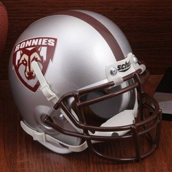 St Bonaventure Bonnies Mini XP Authentic Helmet Schutt