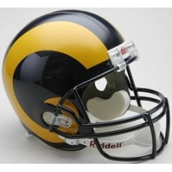 St. Louis Rams 1981 to 1999 Full Size Replica Throwback Helmet