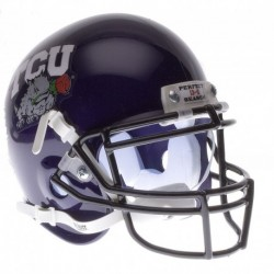 TCU Horned Frogs 2010 Rose Bowl Champs Mini Authentic Schutt