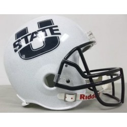 Utah State Aggies Full Size Replica Football Helmet