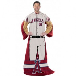 "Los Angeles Angels 48""x71"" Comfy Throw - Player Design"