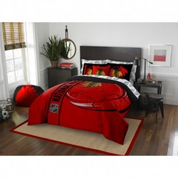 Chicago Blackhawks Bed in a Bag - Full Soft & Cozy