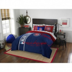 Chicago Cubs Bed in a Bag - Full Soft & Cozy