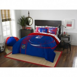 New York Rangers Bed in a Bag - Full Soft & Cozy