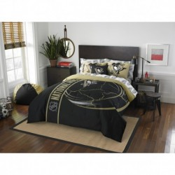 Pittsburgh Penguins Bed in a Bag - Full Soft & Cozy