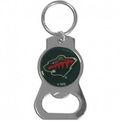 Minnesota Wild Bottle Opener Key Chain