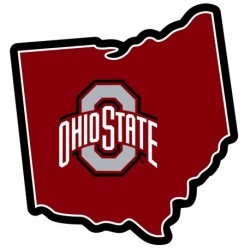 Ohio St. Buckeyes Home State 11 Inch Magnet