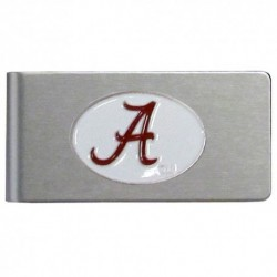 Alabama Crimson Tide Brushed Metal Money Clip