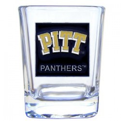 College 2 oz Glass - Pittsburgh Panthers