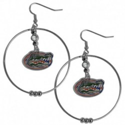 Florida Gators 2 Inch Hoop Earrings